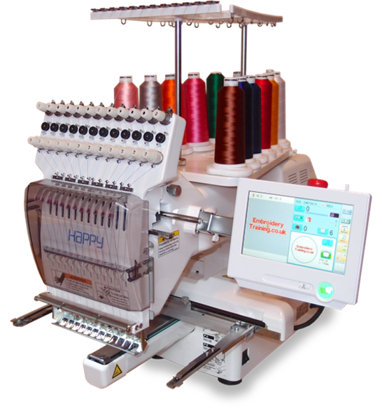 Happy HCS2 single head embroidery machine